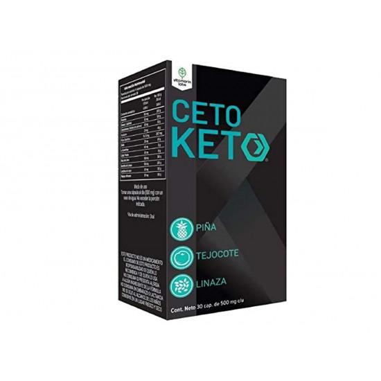 Ceto Keto caja con 30 cápsulas