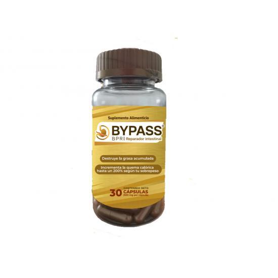 ByPass, BPR Reparador Intestinal, bote con 30 cápsulas.