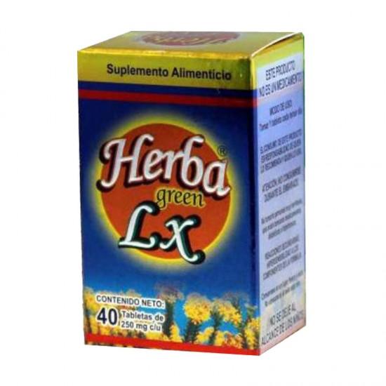 Herba Green LX con 40 tabletas