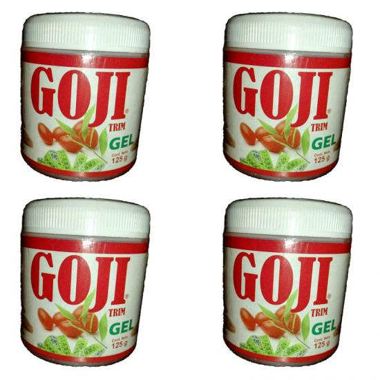 Gel Reductor de Bayas de Goji Trim, 4 Pack