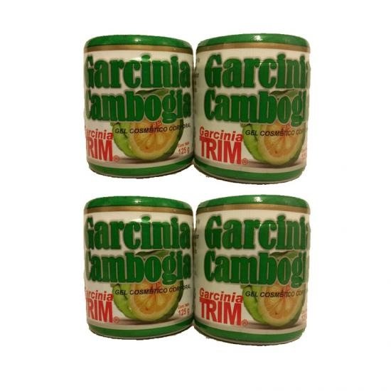Gel Reductor de Garcinia Cambogia Trim, 4 Pack