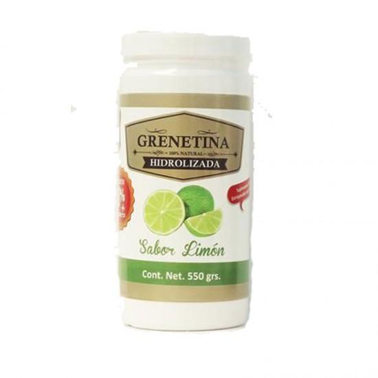 Grenetina Hidrolizada Sabor Limón con 550 gramos