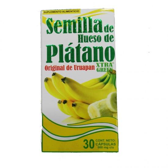 Semilla de Hueso de Plátano Original de Uruapan