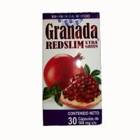 Granada RedSlim de XtraGreen con 30 cápsulas