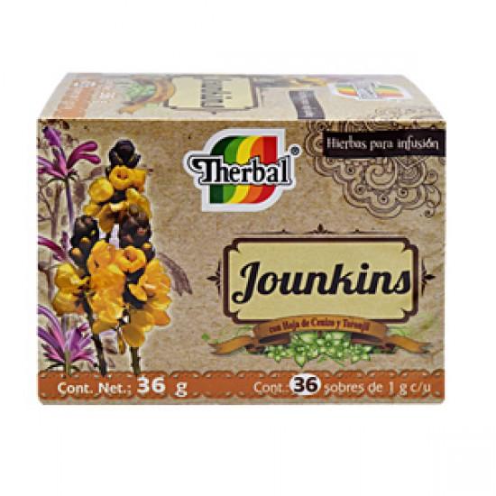 Té Jounkins con 36 sobres ( 2 cajitas )