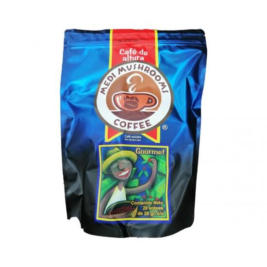 Café con Ganoderma antes llamado Starcoffee Bolsa con 20 sobres