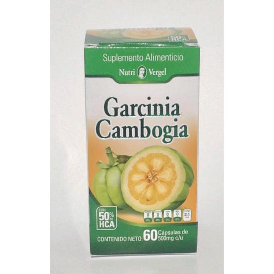 Garcinia Cambogia Pura de Nutrivergel con 50% de HCA