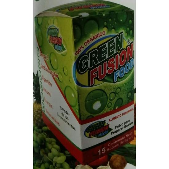Green Fusion Food con 15 sobres