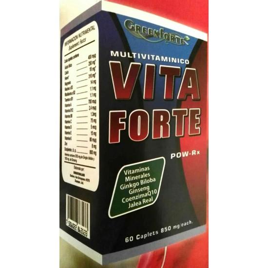 VitaForte Multivitaminico con 60 Capsulas