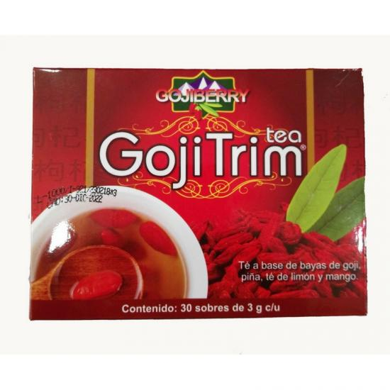 Té de Goji Berry, caja con 30 sobres de 3 gramos cada uno